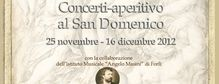 Concerti aperitivo al San Domenico