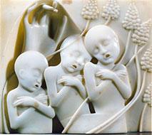 Adolfo Wildt - La protezione dei bambini o Pargoli (La Carità)