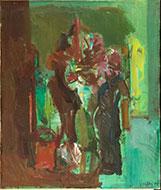Claudio Neri - Natura morta con fiori(Composizione)