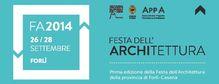 Festa Architettura