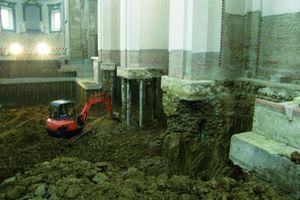 Restauro navata Chiesa San Giacomo