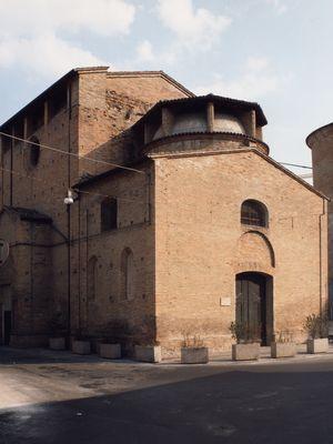 Veduta esterna Oratorio di San Sebastiano