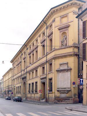 Palazzo del Merenda vista esterna