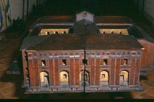 Modellino Palazzo del Merenda