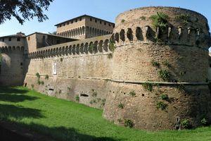 Veduta Rocca di Ravaldino