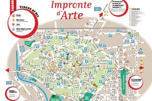 Mappa Impronte d'arte