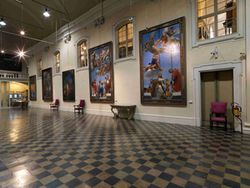 Salone pinacoteca civica
