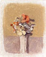 Giorgio Morandi - Vaso di fiori. Il papavero