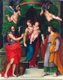 La Madonna col Bambino fra San Girolamo e Maddalena