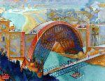 Anselmo Bucci - Il ponte sul Metauro