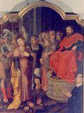 Il martirio di Santa Lucia