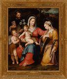 La Madonna col Bambino e i Santi Giovannino, Domenico e Caterina d'Alessandria