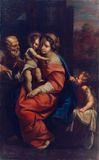 La Sacra Famiglia con San Giovannino